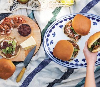 Sandwich à la viande froide D'Italiano