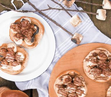 Sandwich estival à la guimauve et au chocolat D'Italiano