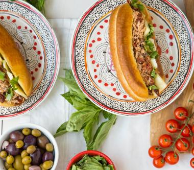 D'Italiano® Tuscan Tuna Sandwich