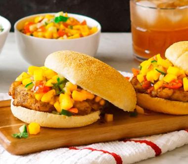 D'Italiano® Bombay Chicken with Fresh Mango Salad